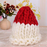 Women Winter Warm Hat Handmade Knitted Coarse Lines Cable Hats Knit Cap Candy Color Beanie Crochet Caps Women Accessories - CelebritystyleFashion.com.au online clothing shop australia