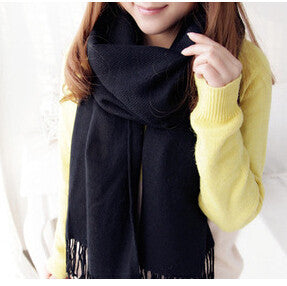 190*60CM Fashion Wool Winter Scarf Women Bandana Plaid Thick Cachecol Brand Shawls and Scarves for Women - CelebritystyleFashion.com.au online clothing shop australia