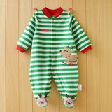 Baby Rompers clothes long sleeved coveralls for newborns Boy Girl Polar Fleece baby Clothing - CelebritystyleFashion.com.au online clothing shop australia