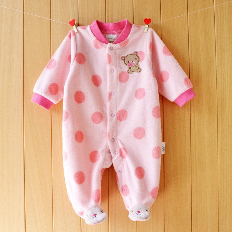 092cb8bf6 Baby Rompers clothes long sleeved coveralls for newborns Boy Girl ...