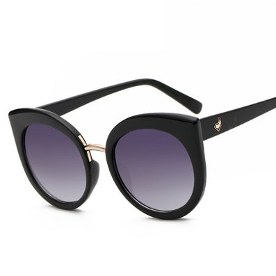 UV400 Protection Ladies Cat Eye Sunglasses Oversized Acetate Frame Oculos Summer Transparent Big Sun Glasses - CelebritystyleFashion.com.au online clothing shop australia