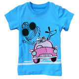 Boy Girl T-Shirt Summer Baby Boys Girls T Shirt Short Sleeve Shirts Kids Boy Girl Tops - CelebritystyleFashion.com.au online clothing shop australia