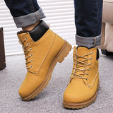 Men boots fashion Winter ankle snow shoes - CelebritystyleFashion.com.au online clothing shop australia