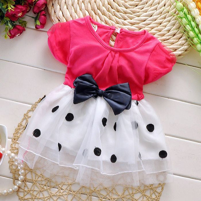 1 3 Years Old Baby Girls Dress Summer Cotton Material Free Shipping