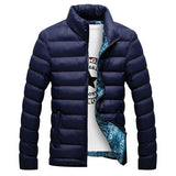 Winter Jacket Men Men Cotton Blend Coats Zipper Mens Jacket Casual Thick Outwear For Men Asia Size 4XL Clothing Male,EDA104 - CelebritystyleFashion.com.au online clothing shop australia