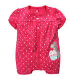 Toddler Baby Boy Rompers Summer Baby Girls Clothing Sets Roupas Infant Baby Jumpsuits Short Sleeve Newborn Baby Clothes - CelebritystyleFashion.com.au online clothing shop australia