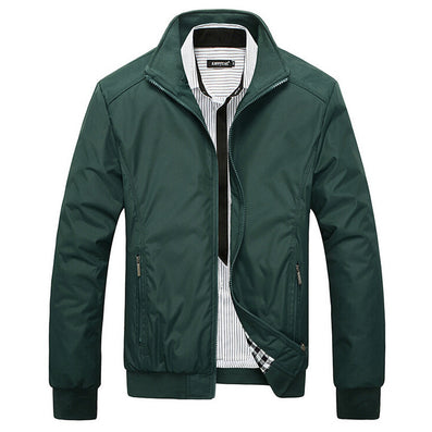 Jacket Men Overcoat Casual bomber Jackets Mens Outwear Windbreaker coat jaqueta masculina veste homme brand clothing - CelebritystyleFashion.com.au online clothing shop australia