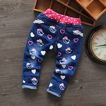 New Cartoon Fashion Character Children Kids Baby Boy Girls Pants Baby Girl Boys Jeans Pants Child Trousers Girls Jeans - CelebritystyleFashion.com.au online clothing shop australia