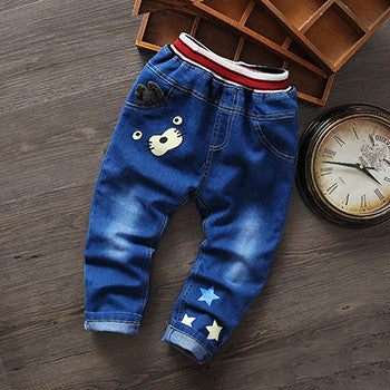 e806abcc92 New Cartoon Fashion Character Children Kids Baby Boy Girls Pants Baby Girl  Boys Jeans Pants Child Trousers Girls Jeans