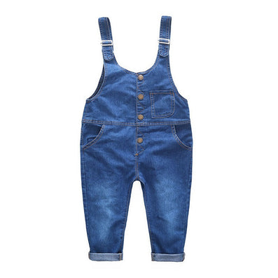 Kids Ripped Denim Jeans Pants Children Overalls Jeans Pants Boys and Girls Casual Jeans 3T-8T, SC020 - CelebritystyleFashion.com.au online clothing shop australia