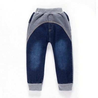 For 2-8Y Kids Jeans Boys Denim Trousers Baby Girl Jeans Autumn Winter Top Quality Casual Pants Children Clothing - CelebritystyleFashion.com.au online clothing shop australia