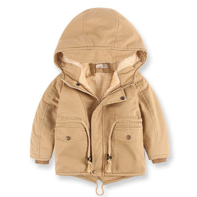 European Style New winter boy coat children's clothing warm trench thickening kids coat jacket - CelebritystyleFashion.com.au online clothing shop australia