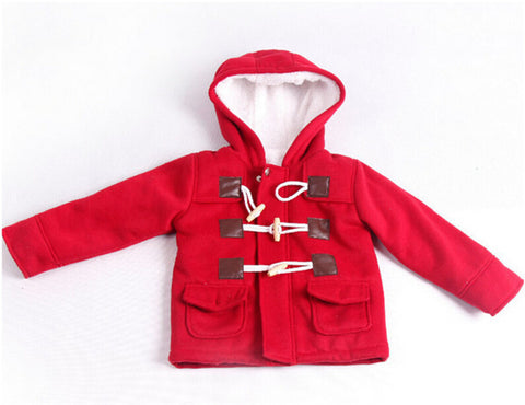 Children's Clothing New Autumn Winter Boys Coats Boys Jackets Girls Outerwear Coat Kids Warm Wool Coat Baby Hooded Jacket - CelebritystyleFashion.com.au online clothing shop australia