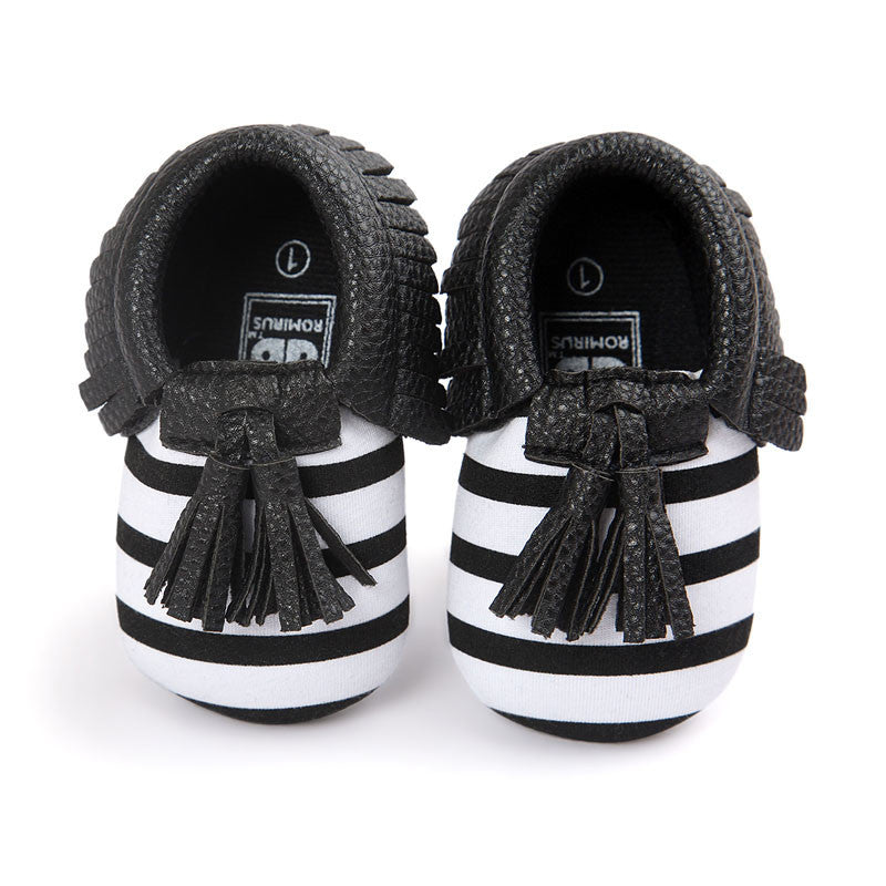 Model 15 / 0-6 MonthsFashion New Styles Suede PU Leather Infant Toddler Newborn Baby Children First Walkers Crib Moccasins Soft Moccs Shoes Footwear