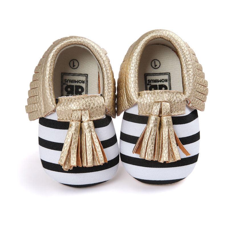 Model 16 / 0-6 MonthsFashion New Styles Suede PU Leather Infant Toddler Newborn Baby Children First Walkers Crib Moccasins Soft Moccs Shoes Footwear