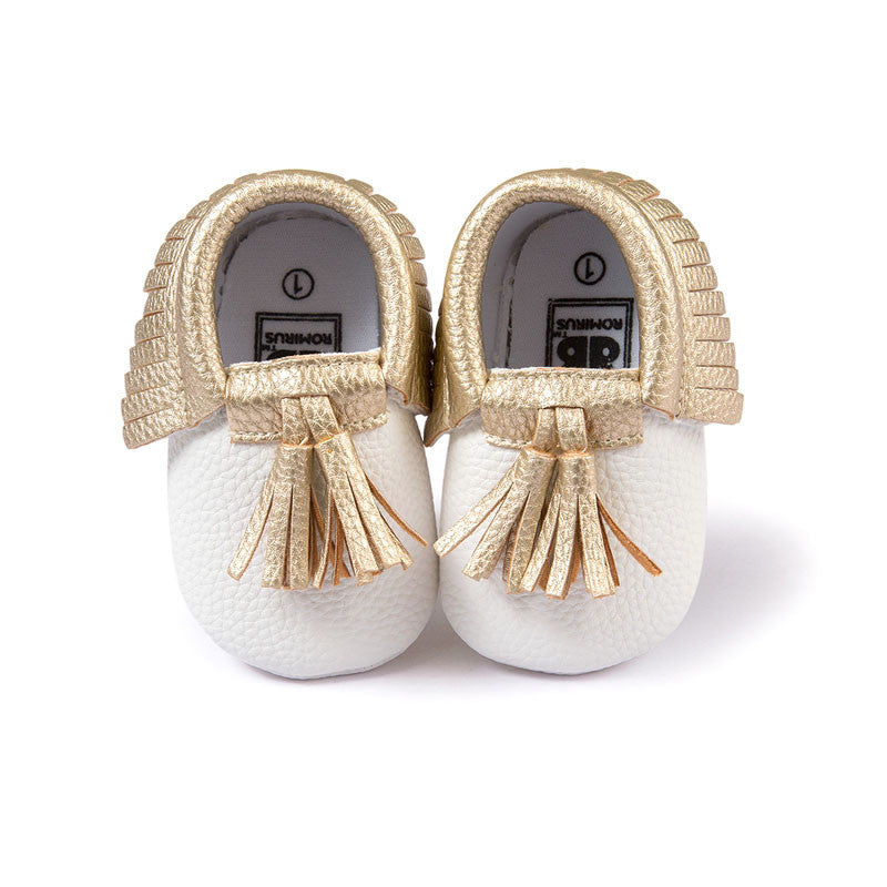 Model 3 / 0-6 MonthsFashion New Styles Suede PU Leather Infant Toddler Newborn Baby Children First Walkers Crib Moccasins Soft Moccs Shoes Footwear