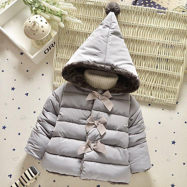 e152e1df High quality new winter clothes kids outerwear baby girls parkas fashion  Snow Wear babys Hoodies clothing