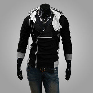 9colors M-6XL 2015 Hoodies Men Sweatshirt Male Tracksuit Hooded Jacket Casual Male Hooded Jackets moleton Assassins Creed - CelebritystyleFashion.com.au online clothing shop australia