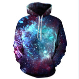 New Fashion Space Galaxy Sweatshirt Hoodies 3D Print Hip Hop Coats Casual Sweatshirt Sportwear Tops - CelebritystyleFashion.com.au online clothing shop australia