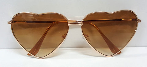 New Fashion Heart Shaped Sunglasses Women Metal Wrap Sun Glasses Lovely - CelebritystyleFashion.com.au online clothing shop australia