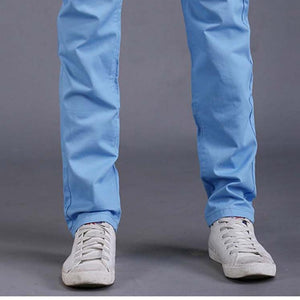9 colors summer autumn fashion business or casual style pants men slim straight casual long pants fashion multicolor men pants - CelebritystyleFashion.com.au online clothing shop australia