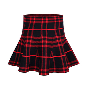 Autumn Winter Girl Skirts Baby High Waisted Skirt Girls Knit Skirts Children Clothing Solid Cotton Princess Party Pleated Skirt - CelebritystyleFashion.com.au online clothing shop australia