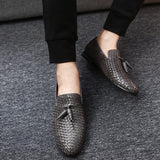 Men oxford shoes Breathable Action Leather Men's Flats Shoes Summer Spring Casual Shoes For Man Sapatos Masculinos EPP164 - CelebritystyleFashion.com.au online clothing shop australia