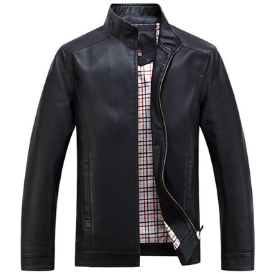 Faux Leather Jackets Men's Clothes Spring Autumn Coats Men Outwears Brand Clothing Business Men's Jacket 3XL WA093 - CelebritystyleFashion.com.au online clothing shop australia