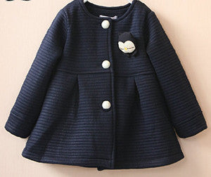 Spring Children Jackets Baby Little Penguin Single Breasted Child Coat Girl Outerwear Jackets For Girls Bow Girl Clothes - CelebritystyleFashion.com.au online clothing shop australia