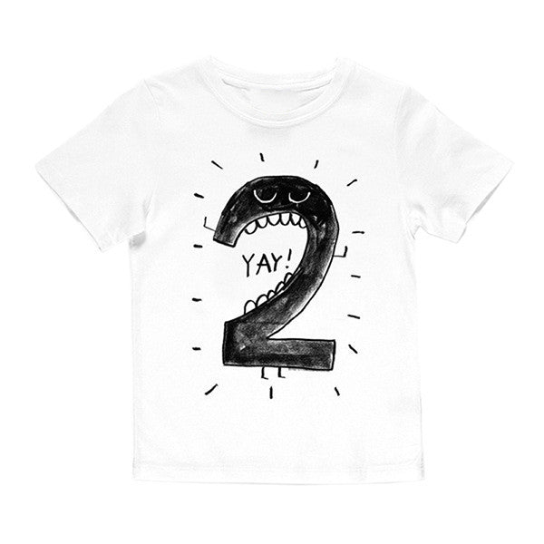 Number Letter Boys Print T Shirt For Kids Summer Shirts Baby Boy Funny Birthday