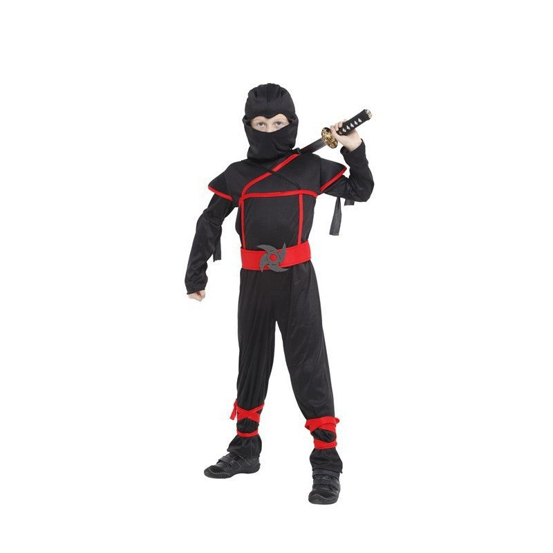 NO 1 / S / NinjaClassic Halloween Costumes Cosplay Costume Martial Arts Ninja Costumes For Kids Fancy Party Decorations Supplies Uniforms