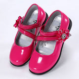 party girls shoes kids girl princess leather red shoe baby children new fashion - CelebritystyleFashion.com.au online clothing shop australia