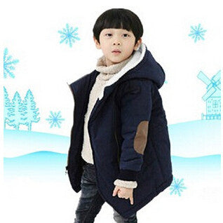New Brand Autumn Winter Kid's Fashion & Casual Jackets Boy's Cashmere Long Sleeve Hooded Coats Kids Warm Clothing - CelebritystyleFashion.com.au online clothing shop australia