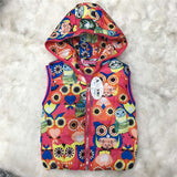 Autumn Girl Vests Jacket Kids Clothes Character Fashion Children Clothing Hooded Waistcoats Casual Baby Girls Vest Coats - CelebritystyleFashion.com.au online clothing shop australia