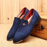 Fashion Men Flat Shoes Breathable Driving Shoes Slip On Moccasins Casual Men Loafers Shoes#SJL56 - CelebritystyleFashion.com.au online clothing shop australia