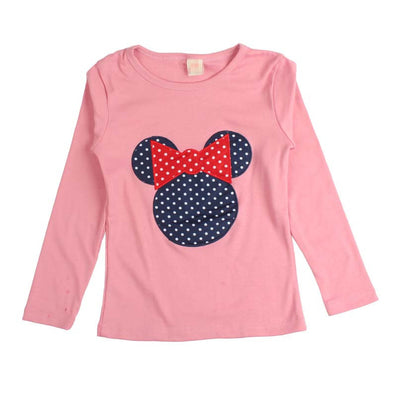 Baby Kids Cartoon Cat Print Long Sleeve T Shirt Toddler Clothes Baby Girls Clothing Casual Blouse Tops Children's Clothing - CelebritystyleFashion.com.au online clothing shop australia