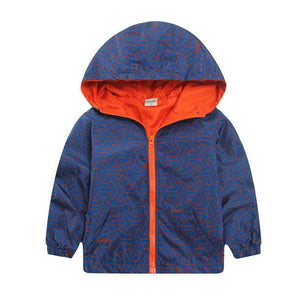 New Arrival Spring/Autumn Boy and Girls Outwear Children's Camouflage Hooded Jackets Handsome Kid Long Sleeve Windbreaker CMB319 - CelebritystyleFashion.com.au online clothing shop australia