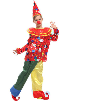 Halloween Costumes Kids Children Circus Clown Costume Naughty Harlequin Fancy Fantasia Infantil Cosplay Clothing for Boys  sc 1 st  CELEBRITYSTYLEFASHION & Halloween Costumes Kids Children Circus Clown Costume Naughty ...