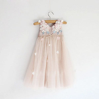 Baby Girls Dress Summer Brand Girls Wedding Dress Lace Princess Dress for Girls Clothes Kids Dresses Children Clothing - CelebritystyleFashion.com.au online clothing shop australia