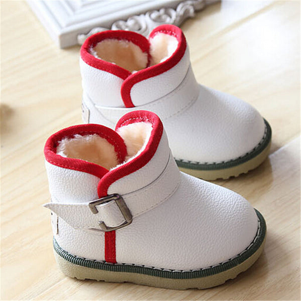 df96e543eba Brand Waterproof Children Boots Winter Baby Shoes Girls Cotton - Padded  Shoes Ankle Boys Boots