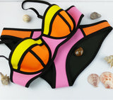 Swimwear Woman Neoprene Material Bikini New Summer Sexy Swimsuit Bath Suit set TA002 Cikini - CelebritystyleFashion.com.au online clothing shop australia