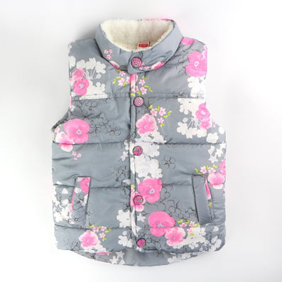 Autumn Girls Outerwear Floral Baby Girls Vest Baby Outerwear European And American Style Outerwear & Coats Princess Girls Vest - CelebritystyleFashion.com.au online clothing shop australia
