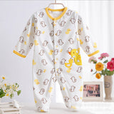 0-12M Baby Boy Rompers Blue Star Horse Baby Rompers Long Sleeves O-Neck Fleece Giraffe Baby Clothing Character Pattern V20 - CelebritystyleFashion.com.au online clothing shop australia