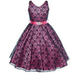 High Quality girl dress New Year Party Dress Christmas Dress for Girl Sleeveless Lace Princess 3-14Yrs Girls clothes - CelebritystyleFashion.com.au online clothing shop australia