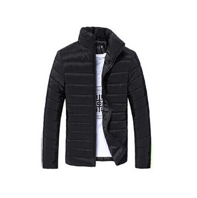 New Mens Jackets Coats Casual Jacket Men Clothes Cotton Denim Jacket Solid Zipper Coat Men Bomber Jacket - CelebritystyleFashion.com.au online clothing shop australia