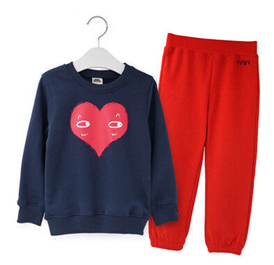 cotton children Set autumn boys clothes Swan boy character set boys kids jacket tracksuit pants+t shirts - CelebritystyleFashion.com.au online clothing shop australia