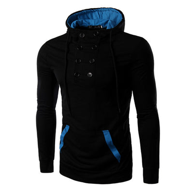 NEW Brand Clothing Winter Casual Hoodies Mens Cotton Fashion Men's Warm Hoodies Sweatshirts Suit Hoody Jacket M-2XL BW1809 - CelebritystyleFashion.com.au online clothing shop australia