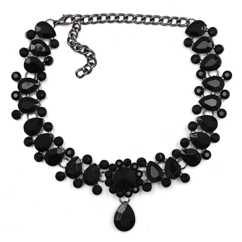 black3 colors New 2016 Z design fashion necklace collar necklace & pendant luxury choker statement necklace maxi jewelry