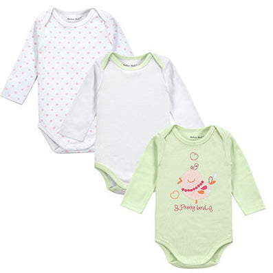 3 Pieces/lot Cartoon Style Baby Girl Boy Winter Clothes New Born Body Baby Ropa Next Baby Bodysuit - CelebritystyleFashion.com.au online clothing shop australia