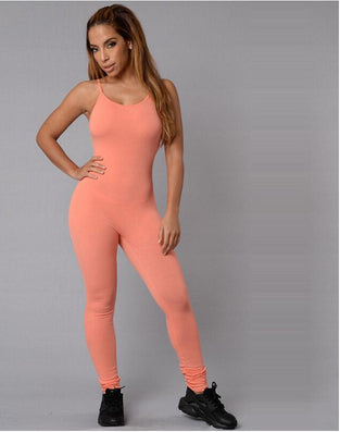 Sexy Jumpsuit Sleeveless For Women Jumpsuits Club Ladies Rompers Black Bandage Elastic Waistband - CelebritystyleFashion.com.au online clothing shop australia